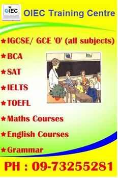 OIEC Study Guide and IGCSE Training Centre